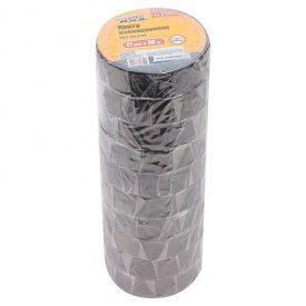 Лента изоляционная 0,15 мм,17 мм*10 м, 1 шт, черная