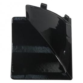Бортик узкий Thermoplast внутренний угол черный глянец 1905