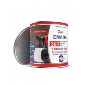 Грунт-емаль Gaia 3 в 1 по іржі 0,9 кг