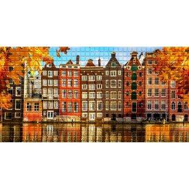 Панель ПВХ Регул Осень в Амстердаме 0,3х480х957 мм