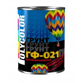 Грунт POLYCOLOR ГФ-021 красно-коричневый 2,8 кг