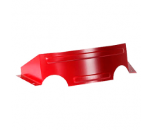 Снігозатримувач декоративний СЗД металевий червоний
