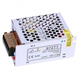 Блок живлення для LED 25W 12V IP20 метал корпус 85x58