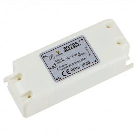Блок живлення 15 W 12 V IP 44 білий пластик