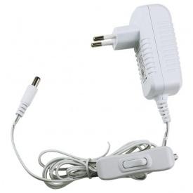 LED-адаптер 18 W 12 V IP 20 кабель 1,5 m викл білий корпус
