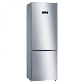 Холодильник з нижньою морозильною камерою нержавіюча сталь KGN49XL306 Bosch