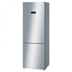 Холодильник с нижней морозильной камерой нержавеющая сталь KGN49XI30U Bosch