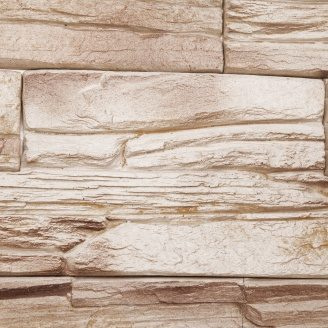 Облицювальний камінь Шале 500x2000x30 мм в упаковці 0,5 м2 Мокко