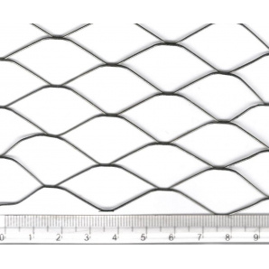 Сетка просечно-вытяжная 17х40х0.6х0.6 холоднокатаная