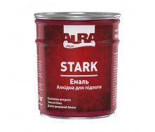 Эмаль алкидная для полов ПФ-266 Aura STARK желто-коричневая 0,9 кг