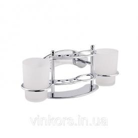 Тримач для щіток та пасти Potato P311 з двома склянками (22826)