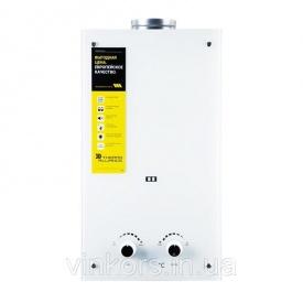 Колонка димохідна газова Thermo Alliance Compact JSD20-10GE 10л скло біле (24629)