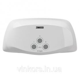 Водонагреватель электрический Zanussi 3-logic (TS 3,5 kW) - кран+душ