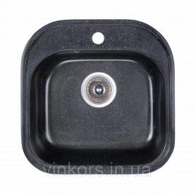 Мойка Fosto 48x49 SGA-420 черный (14021)