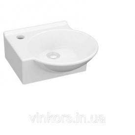 Умывальник IDEVIT Myra Mini белый накладной левый (0201-0367)