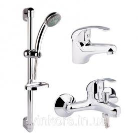 Набор смесителей для ванной QT Set CRM 40-111 (24066)