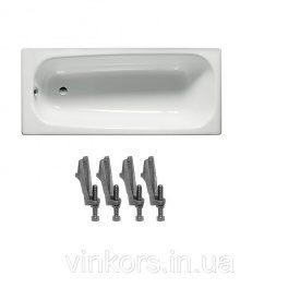 Ванна стальная ROCA CONTESA (A235960000+A291021000), 160*70см