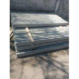 Столб заборный бетонный 2200х120х130 мм