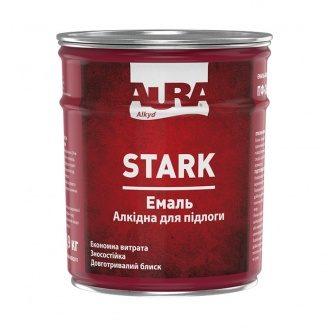 Емаль алкідна для підлоги ПФ-266 Aura STARK жовто-коричнева 0,9 кг