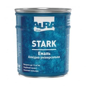 Емаль алкідна універсальна Aura STARK 0,9 кг
