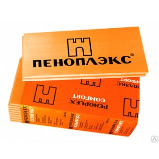 Экструдированный пенополистирол 1185х585х50 мм Пеноплекс