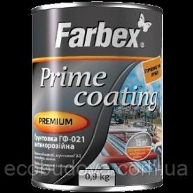 Грунтовка ГФ-021 антикорозійна Farbex 0.3 кг сірий