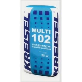 Крайзель MULTI 102 Клей для приклеювання плитки 25 кг