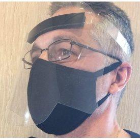 Щиток захисний для обличчя з прозорого ПВХ 0,4 мм