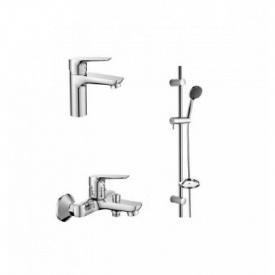 Набор смесителей для ванны IMPRESE 3 в 1 kit20080