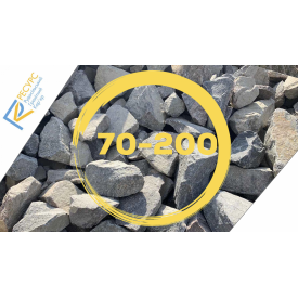 Щебінь гранітний для габіонів фракція 70-200 мм