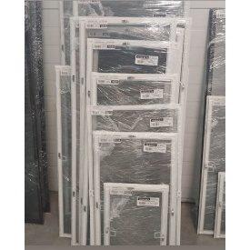 Москитная сетка на окна с алюминиевой рамой белая на металлических крючках 1000х1000 мм Ekipazh