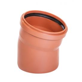 Коліно Зовнішньої каналізації 160 мм/15 градус