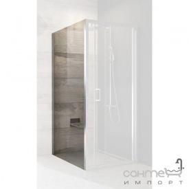 Нерухома стінка для душового куточка Ravak Blix BLPSZ-90 полір. алюміній/прозоре X93H70C00Z1
