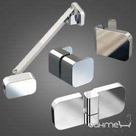 Комплект кріплень для правобічної душової кабіни Ravak B SET BSDPS-R 80,90 D01000A075 хром