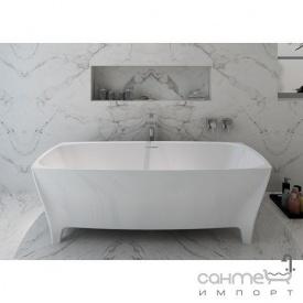 Каменная ванна на ножках Volle 12-22-178 белая