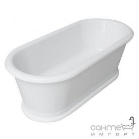 Акриловая ванна отдельностоящая с сифоном Volle 12-22-807 белая