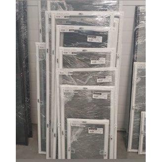 Москітна сітка на вікна з алюмінієвою рамою біла на металевих гачках 1000х1000 мм Ekipazh