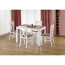 Розкладний стіл Halmar MAURYCY Білий Дуб сонома