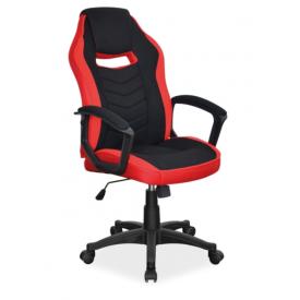 Офісне крісло Signal Camaro Червоний Чорний