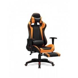 Кресло Halmar Defender 2 Черно-оранжевый