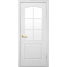 Межкомнатная дверь Симпли со стеклом сатин
