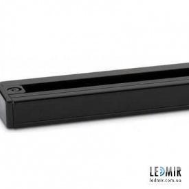 Шинопровод однофазный для трековых светильников Feron CAB1000 черный 2м