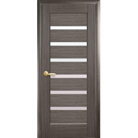 Межкомнатная дверь Линнея стекло сатин