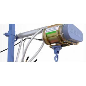 GEDA STAR 200 STANDART Поворотный подъемник c проволочным тросом, противоугонным устройством и крюком на 25 м высота подъема