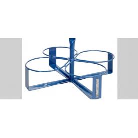 Вешалка GEDA для ведер на 4 ведра (подходит для круглых / овальных)