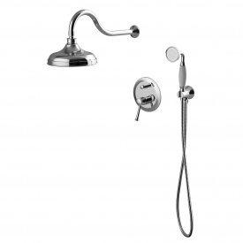 PODZIMA LEDOVE комплект скрытого монтажа для душа смеситель скрытого монтажа верхн душ ручной душ