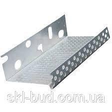 Профиль цокольный стартовый алюминиевый 103 мм 0,8 мм 2,0 м