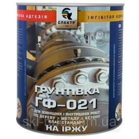Грунтовка Спектр ГФ-021С антикоррозионная 2,8 кг