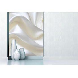 Фотообои 3Д белый нежный шелк
