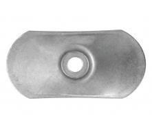 Шайба оцинкована для кріплення теплоізоляції